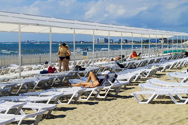 Отель Санмаринн 4* (всё включено) в Анапе: пляж