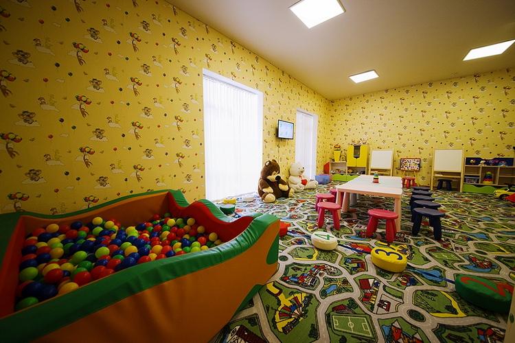Отель Санмаринн 4* (всё включено) в Анапе: детская игровая комната