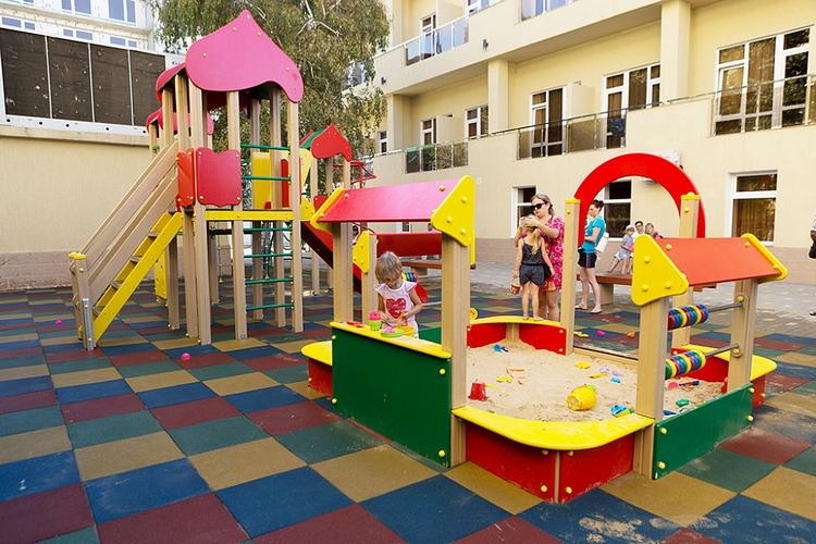 Отель Санмаринн 4* (всё включено) в Анапе: детская площадка