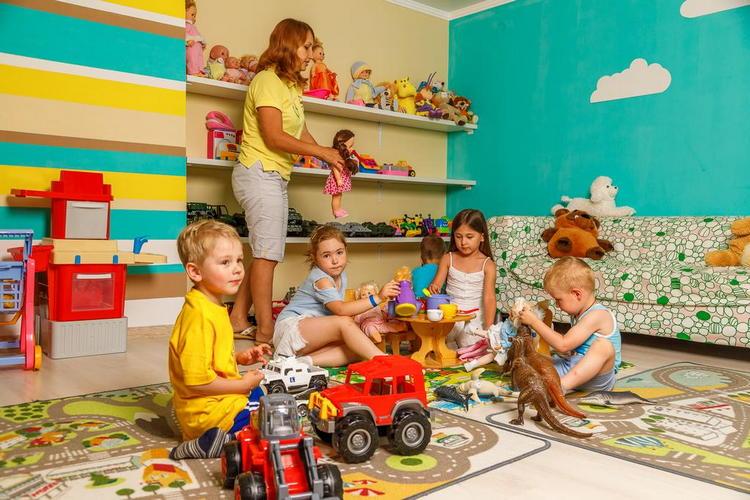Отель «Alean Family Resort & SPA Riviera: детская игровая комната