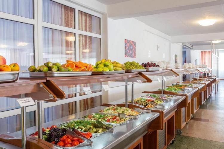 Отель «Славянка» в Анапе: питание