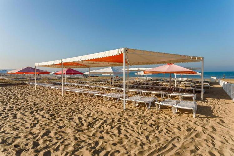 Отель «Славянка» в Анапе: пляж