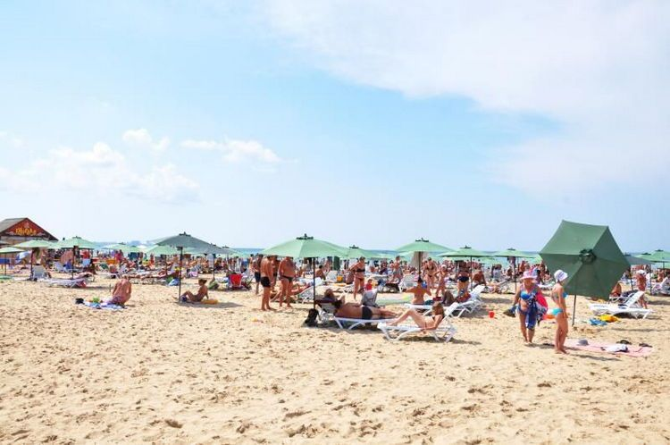 """Курортный отель «Олимп» по системе """"все включено"""", Анапа: пляж"""