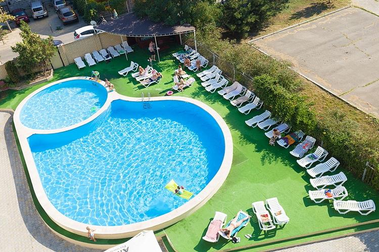 Отель Санмаринн 4* (всё включено) в Анапе