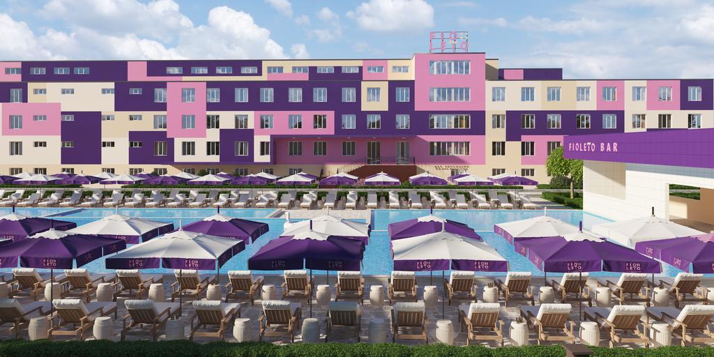 Отель Фиолето Анапа официальный сайт и отзывы