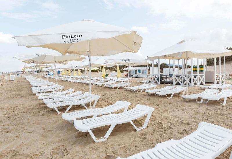 Отель Фиолето Все включено в Анапе: пляж и море